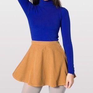 American Apparel Corduroy Circle Skirt